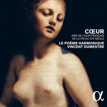 Cover Cœur, airs de cour français de la fin du XVIe siècle