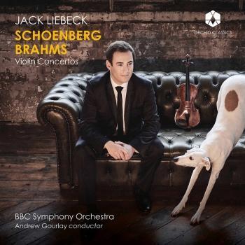 Cover Schoenberg & Brahms: Violin Concertos