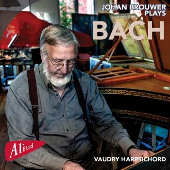 Cover Johan Brouwer plays Bach