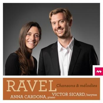 Cover Ravel: Chansons et Mélodies