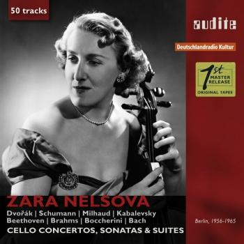 Cover Portrait Zara Nelsova (Remastered Cello Concertos, Sonatas & Suites)