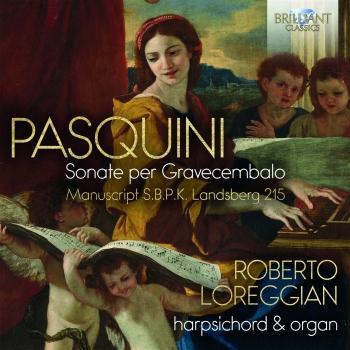 Cover Pasquini: Sonate per Gravecembalo