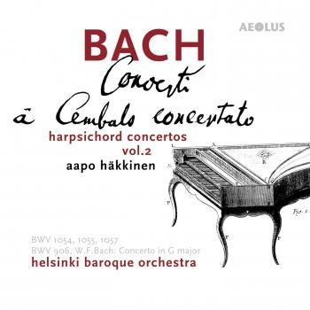 Cover Bach: Harpsichord Concertos Vol. 2