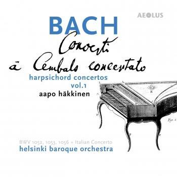 Cover Bach: Harpsichord Concertos Vol. 1