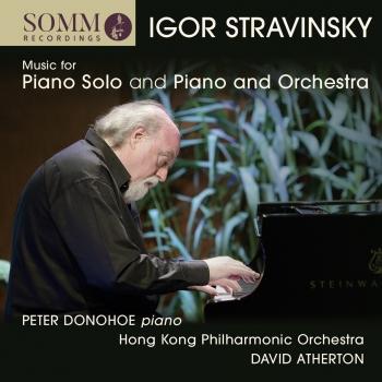 Cover Stravinsky: Music for Piano Solo and Piano & Orchestra