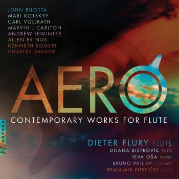 Cover Aero: Contemporary Works for Flute