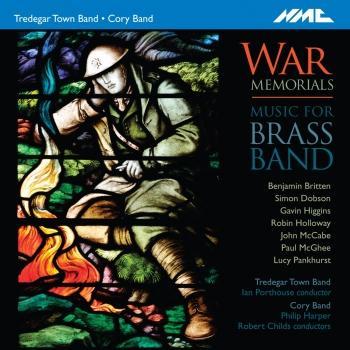 Cover War Memorials: Music for Brass Band