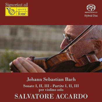 Cover J.S.Bach: Sonate E Partite - S. Accardo