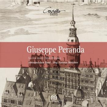 Cover Giuseppe Peranda: Sacred Music from Dresden