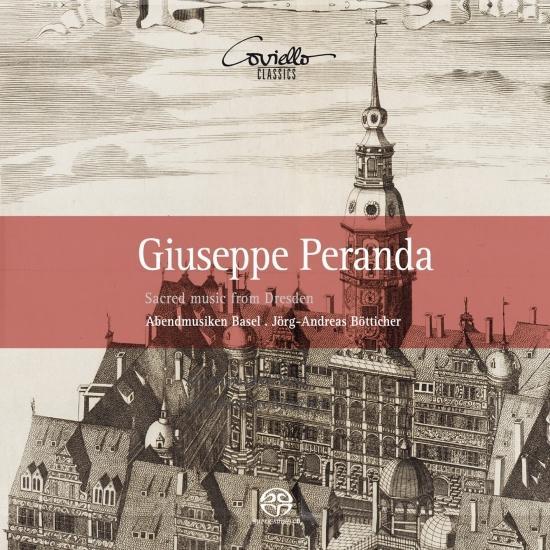 Cover Giuseppe Peranda: Sacred Music from Dresden