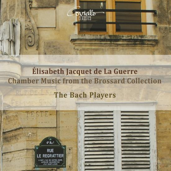 Cover Élisabeth Jacquet de la Guerre: Chamber Music from the Brossard Collection
