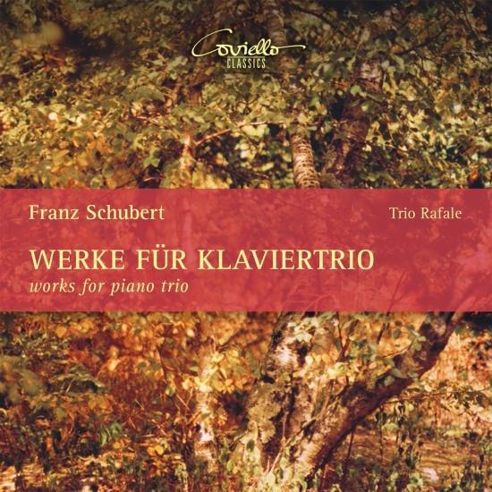 Cover Schubert: Werke für Klaviertrio - Works for Piano Trio