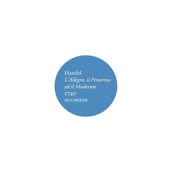 Cover Handel: L'Allegro, il Penseroso ed il Moderato