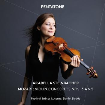 Cover Mozart: Violin Concertos Nos. 3, 4 & 5