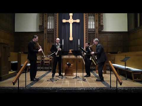 Video PRISM Quartet Performs 'Surfaces and Essences' by Christopher Biggs