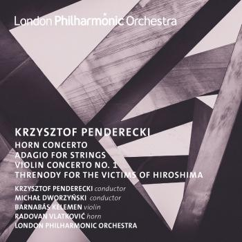 Cover Penderecki: Horn and Violin Concertos