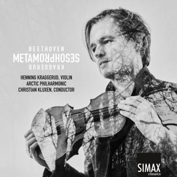 Cover Metamorphoses – Beethoven · Kraggerud