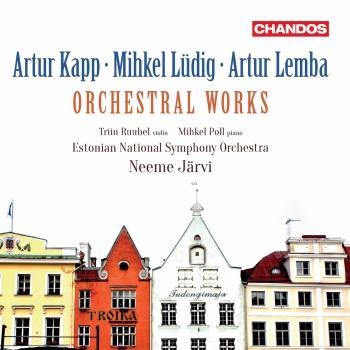 Cover Kapp, Lüdig & Lemba: Orchestral Works