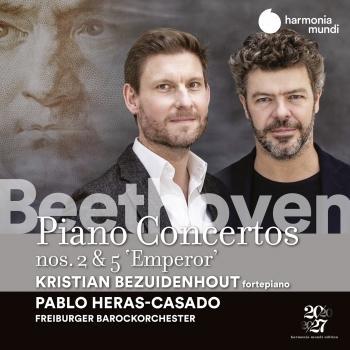 Cover Beethoven: Piano Concertos Nos. 2 & 5 'Emperor'