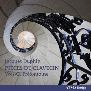 Cover Duphly: Pièces de clavecin