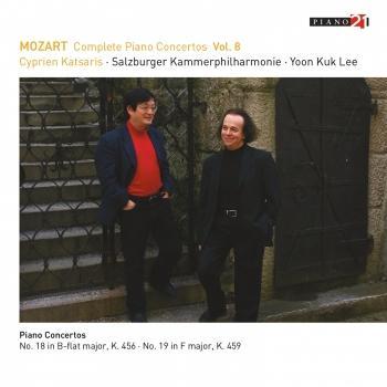 Cover Mozart: Complete Piano Concertos, Vol. 8 (Live - K. 456 & 459)