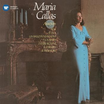 Cover Callas sings Arias from Verdi Operas - Callas Remastered