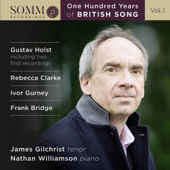 Cover One Hundred Years of British Song, Vol. 1