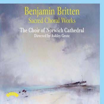 Cover Britten: Sacred Choral Works