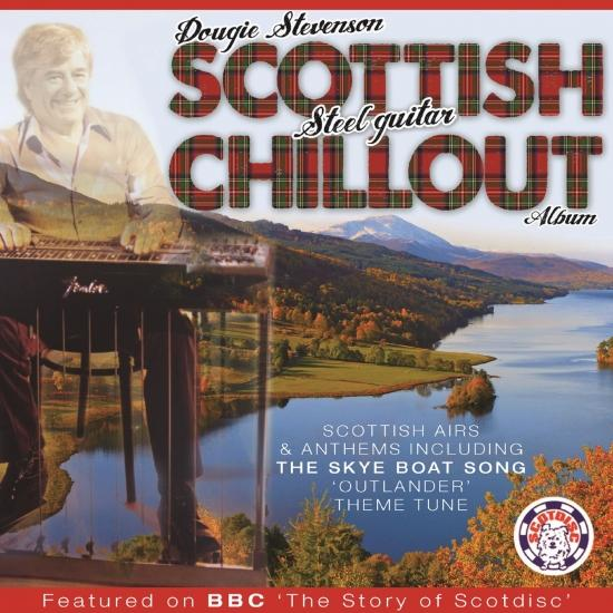 Cover Dougie Stevenson's Scottish Steel Guitar Chillout Album