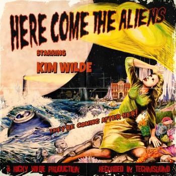 Cover Here Come the Aliens