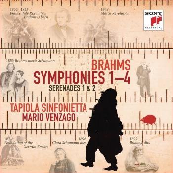 Cover Brahms: Symphonies Nos. 1-4, Serenades Nos. 1 & 2