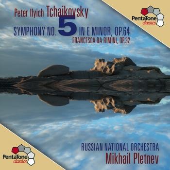 Cover Tchaikovsky: Symphony No. 5 - Francesca da Rimini
