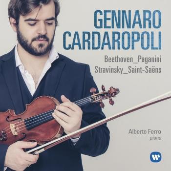Cover Beethoven, Paganini, Stravinsky, Saint-Saëns: Works for Violin and Piano