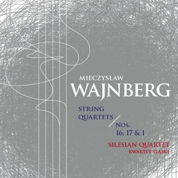 Cover Weinberg: String Quartets Nos. 1, 16 & 17