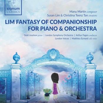 Cover Lim Fantasy of Companionship for Piano and Orchestra