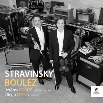 Cover Stravinsky / Boulez