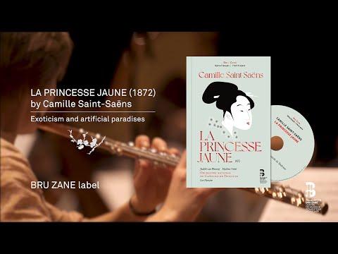 Video Orchestre National du Capitole de Toulouse & Leo Hussain - Camille Saint-Saëns La princesse jaune (1872)
