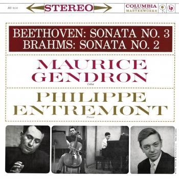 Cover Beethoven: Sonata No. 3 - Brahms: Sonata No. 2 (Remastered)