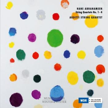 Cover Abrahamsen: String Quartets 1 - 4