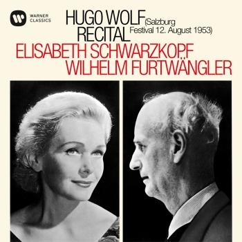 Cover Hugo Wolf Recital - Salzburg, 12/08/1953 (Mono Remastered)