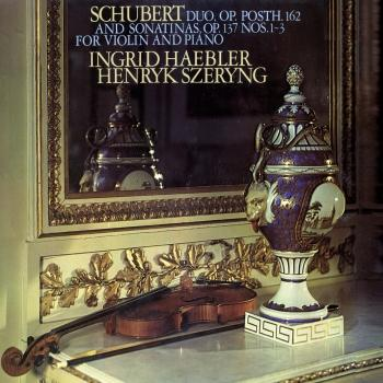 Cover Schubert: 3 Sonatinas; Violin Sonata in A Major