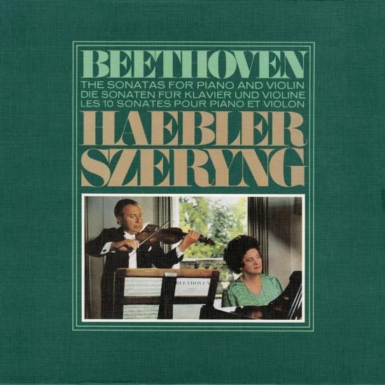 Cover Beethoven: Violin Sonatas Nos. 1-10