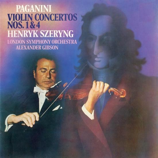 Cover Paganini: Violin Concertos Nos. 1 & 4