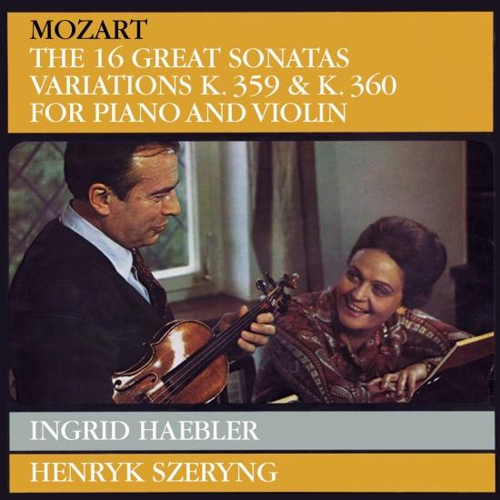 Cover Mozart: Violin Sonatas (Remastered)