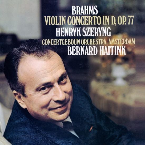 Cover Brahms: Violin Concerto