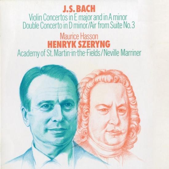 Cover Bach, J.S.: Violin Concerto Nos. 1 & 2; Concerto for 2 Violins
