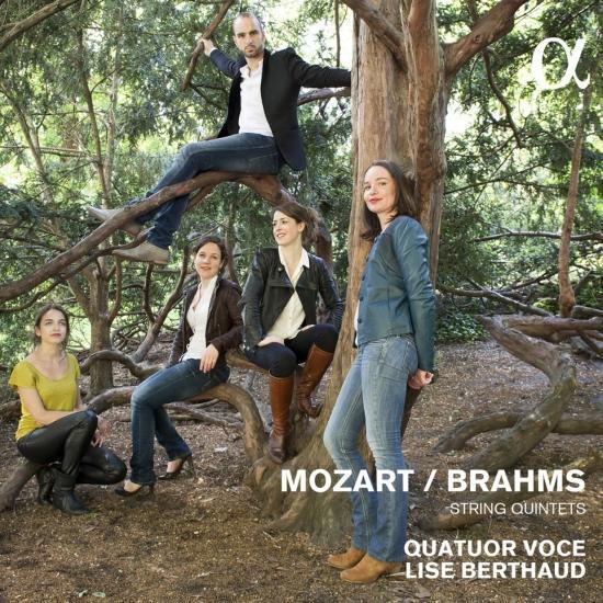 Cover Mozart & Brahms: String Quintets