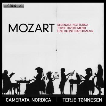 Cover Mozart: Serenata notturna, 3 Divertimenti & Eine kleine Nachtmusik