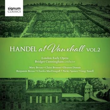 Cover Handel At Vauxhall, Vol. 2