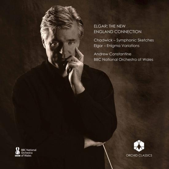 Cover Elgar: The New England Connection